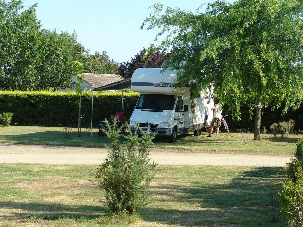 emplacement camping-car camping Val de Vie en Vendée
