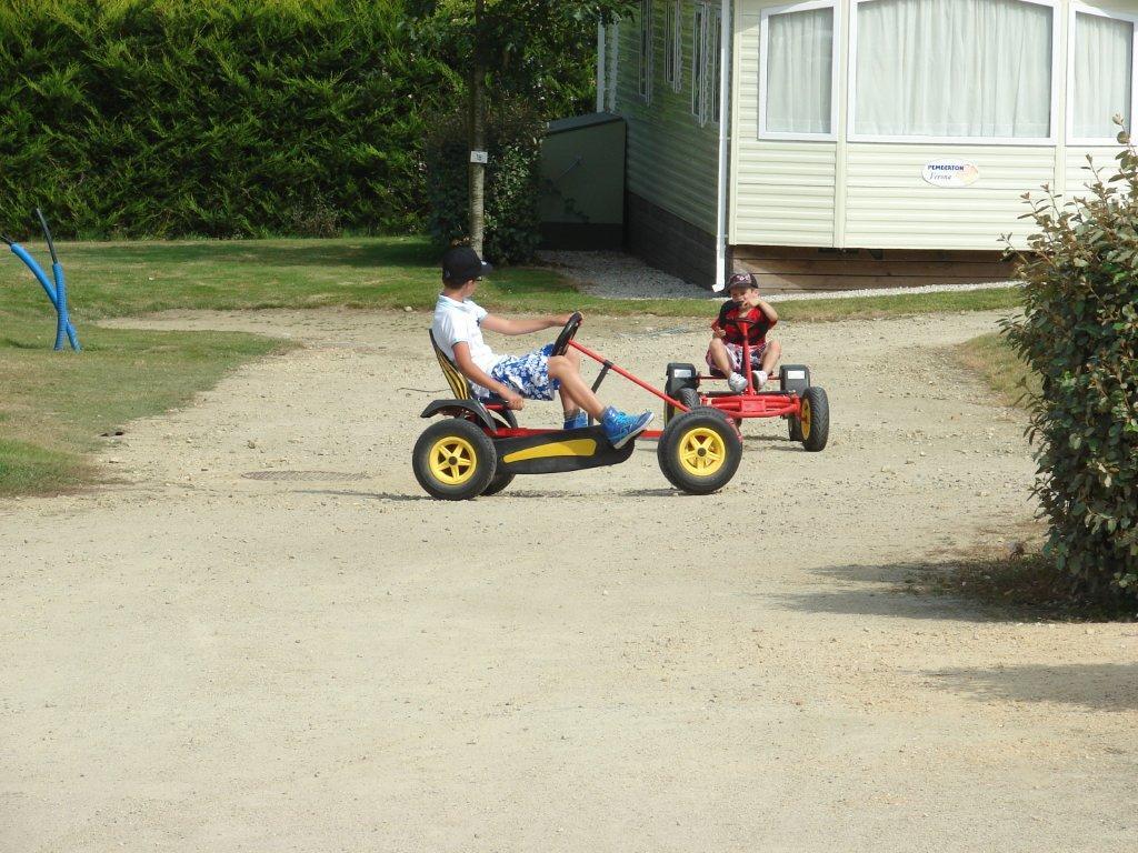 les karts du camping Val de Vie en Vendée
