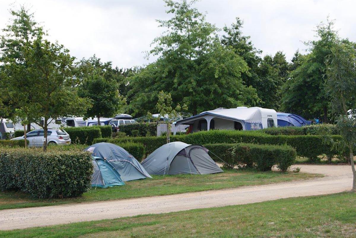 emplacements tente camping Val de Vie en Vendée