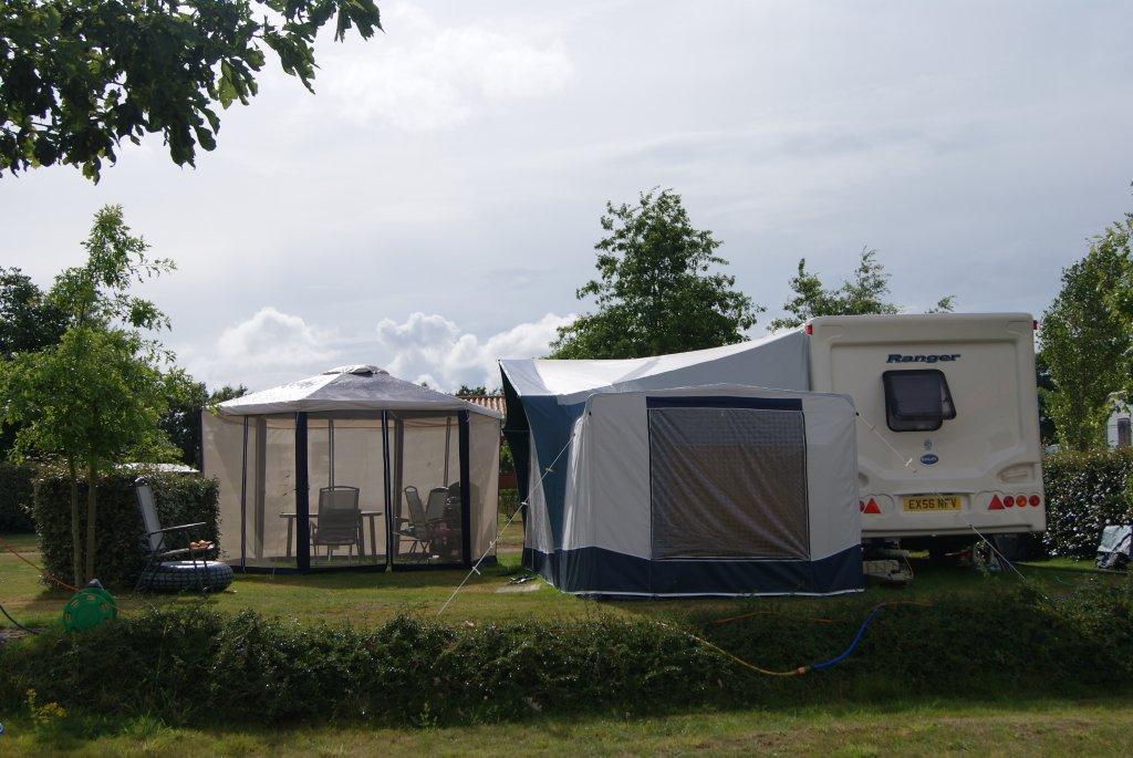 bel emplacement au camping Val de Vie en Vendée