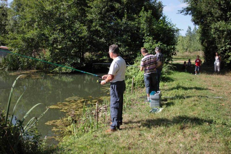 pêche proche du petit camping familial de Vendée