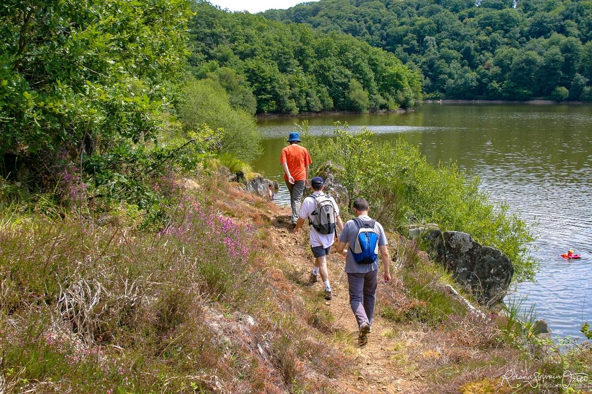 sentiers de randonnées près du camping