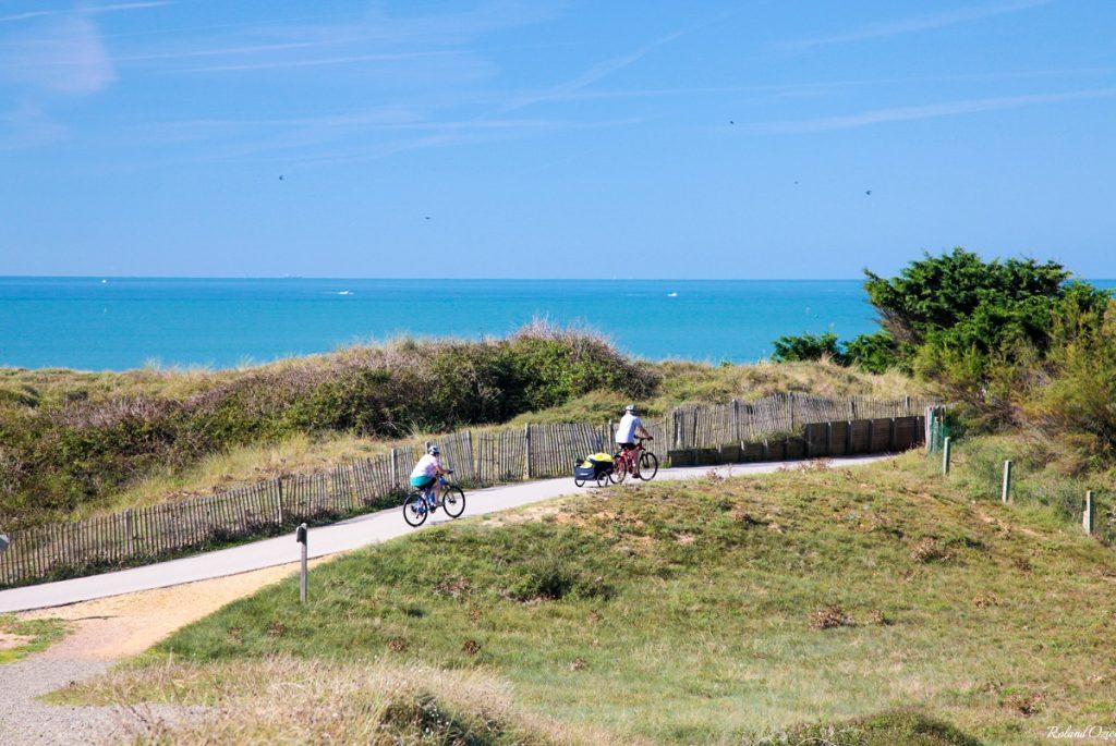 sentiers cyclables près du camping en Vendée