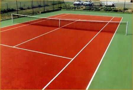 location de terrain de tennis près du camping