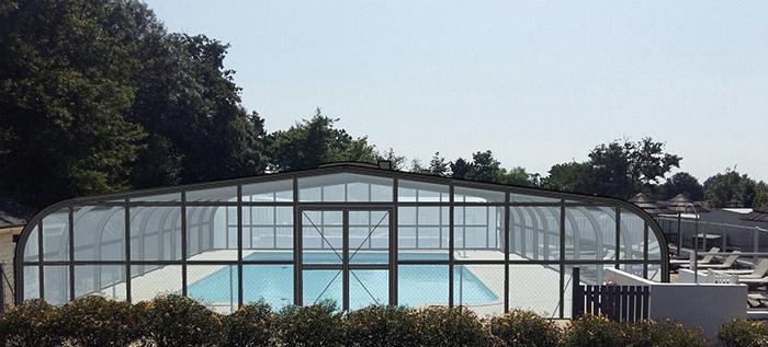 Camping ind pendant avec piscine couverte vend e - Camping roscoff avec piscine couverte ...