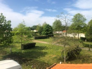 emplacement spacieux du camping