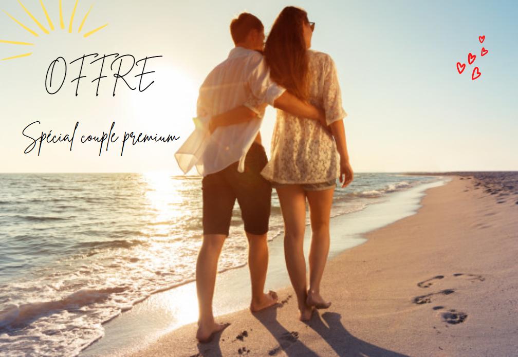 Réservez vos vacances avec nos offres couple premium sur la gamme Tente Lodge Cotton